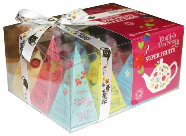 Variace Bio čajů 12x2g - Super Fruits Collection