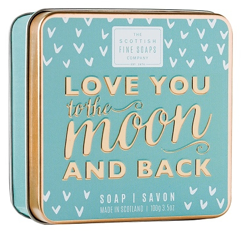 Mýdlo v plechovce 100g - Love You To The Moon And Back