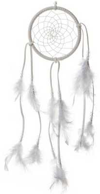 Lapač snů 45cm - Tribal White