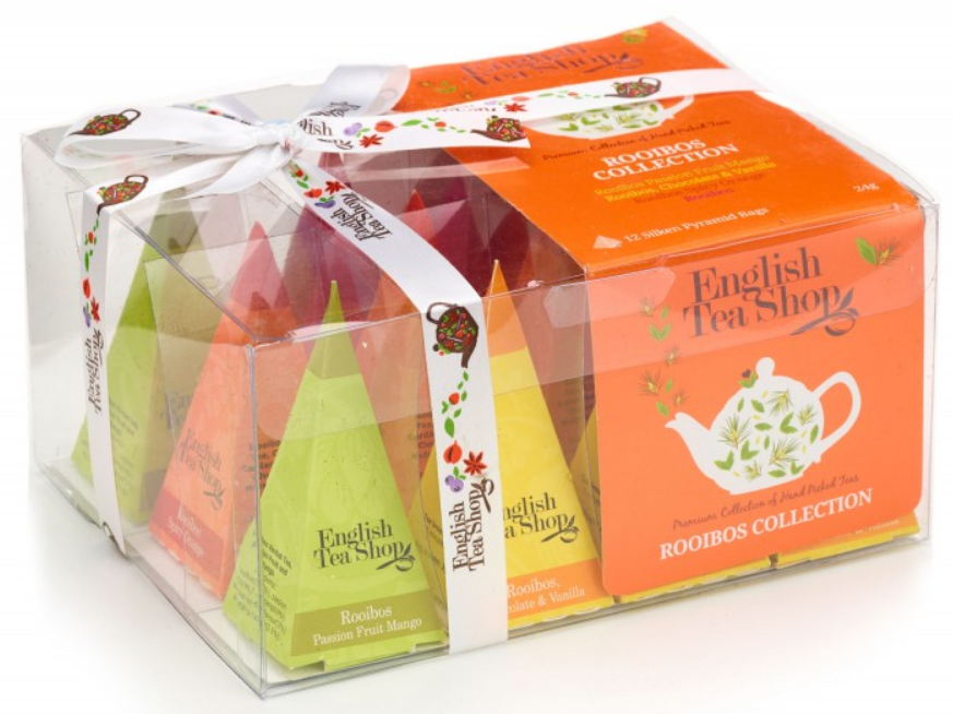 Mix Bio Rooibos čajů 12x2g - Rooibos Tea Collection