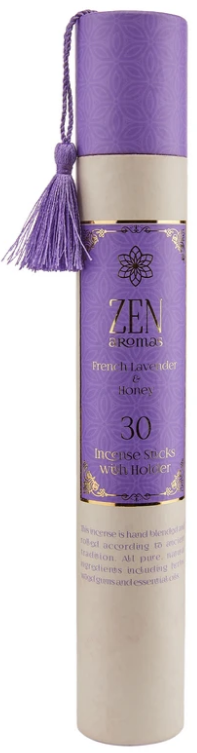 Vonné tyčinky Zen 30ks - French Lavender, Honey