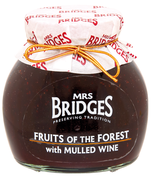 Džem extra 340g - Fruits Of The Forest with Mulled Wine