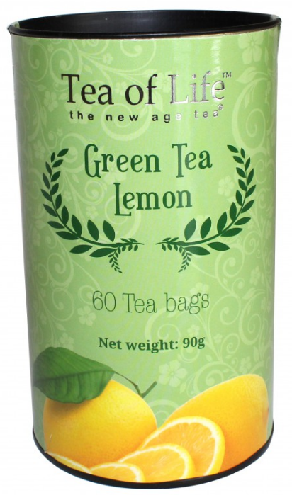 Zelený čaj ochucený 60x1,5g - Green Tea, Lemon