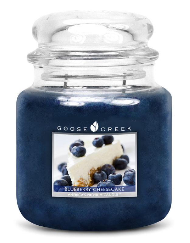Vonná svíčka - Blueberry Cheesecake