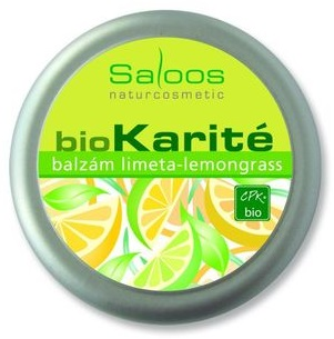 Bio Balzám 50ml - Limeta, Lemongrass