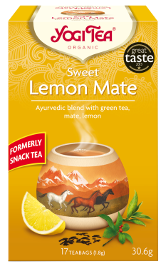 Bio YogiTea 17x1,8g - Sweet Lemon Mate
